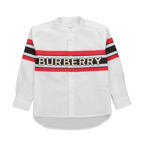 Burberry - LOGO PRINT SHIRT FOR BOYS