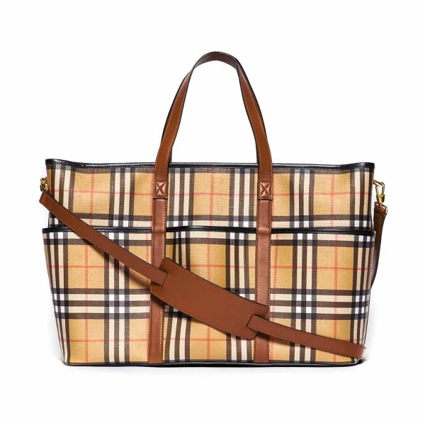 Burberry - VINTAGE CHECK MOMMY BAG