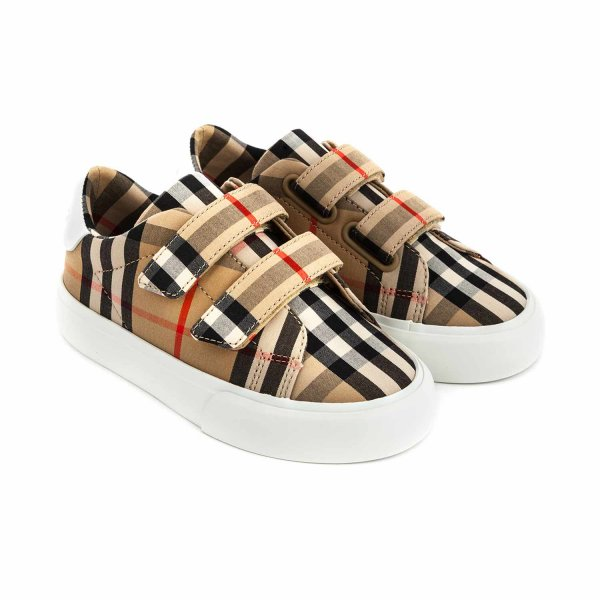 Burberry - UNISEX CHECK SNEAKERS