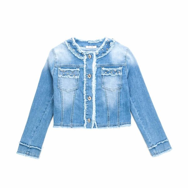 Elsy - DENIM JACKET FOR TEEN AND GIRL