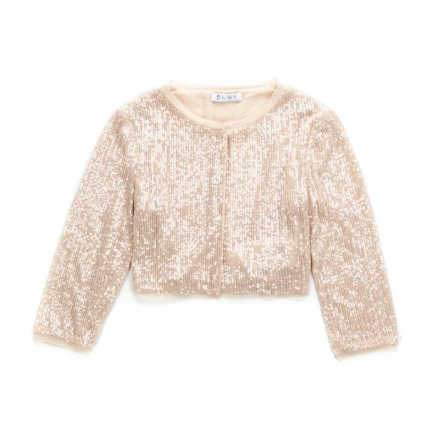 Elsy - SEQUIN CARDIGAN FOR GIRLS