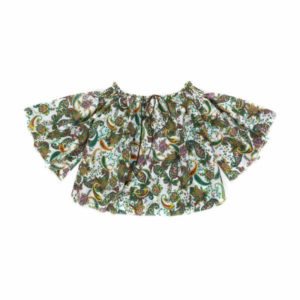 La Stupenderia - PRINTED BLOUSE FOR GIRLS