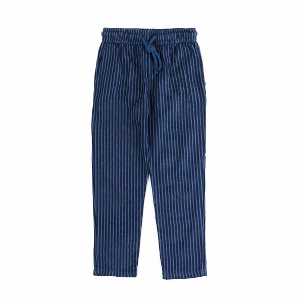 Nupkeet - BLUE STRIPED TROUSERS FOR BOYS