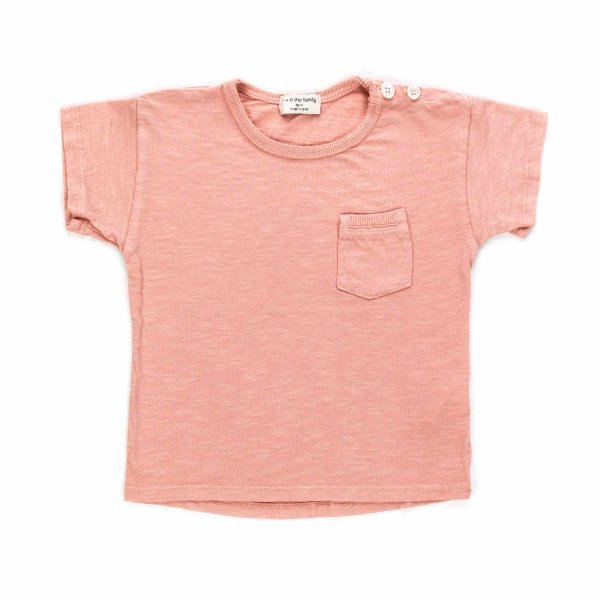 One More In The Family - BABY PINK T-SHIRT