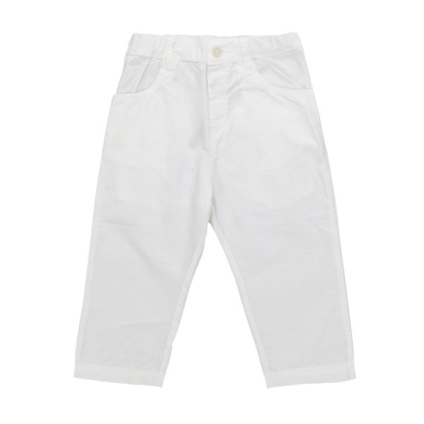 One More In The Family - PANTALONE BIANCO PER BIMBO
