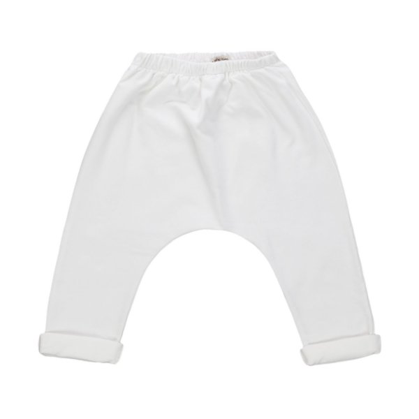 One More In The Family - PANTALONE BIANCO UNISEX