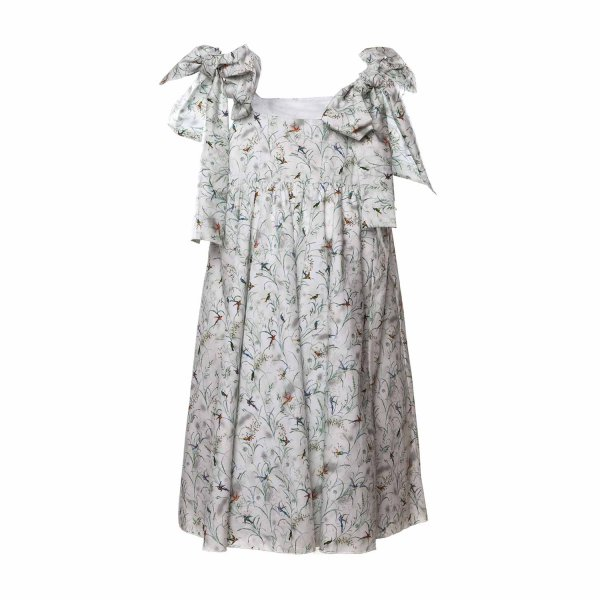 Touriste - DRESS WITH BOWS FOR GIRLS
