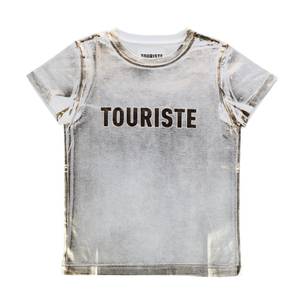 Touriste - FADED T-SHIRT WITH LOGO FOR GIRL