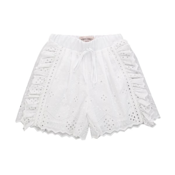 Alberta Ferretti - LACE SHORTS FOR GIRL