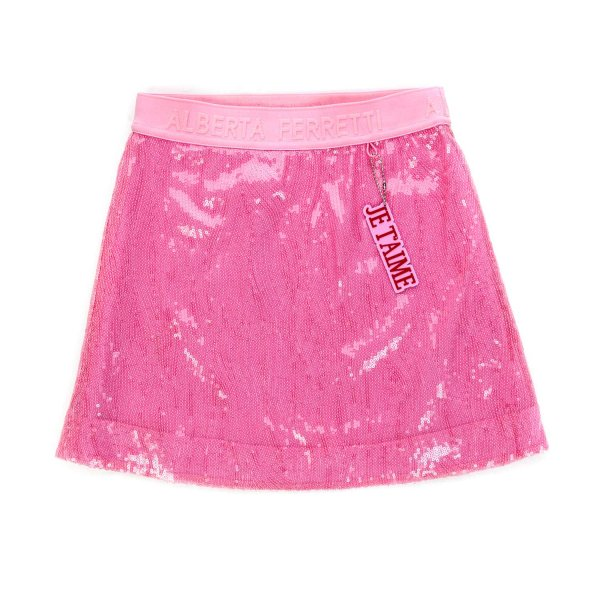 Alberta Ferretti - PINK SKIRT FOR GIRLS
