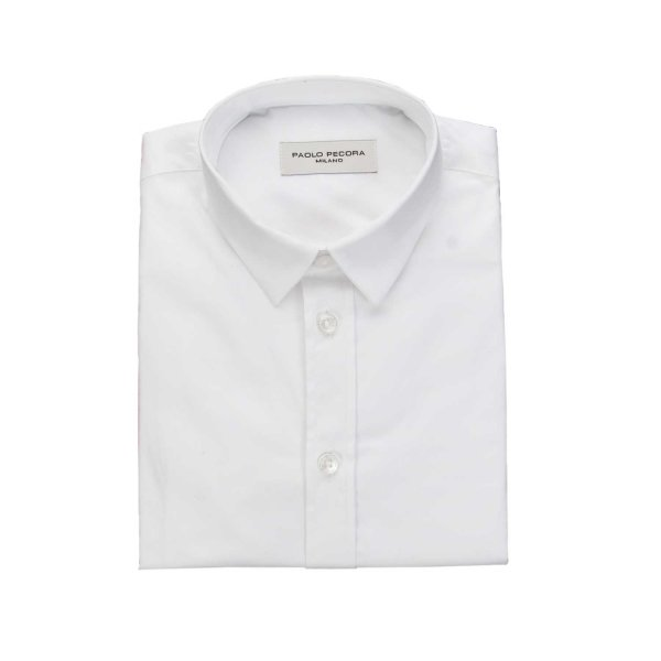 Paolo Pecora - WHITE SHIRT FOR BOY AND TEEN