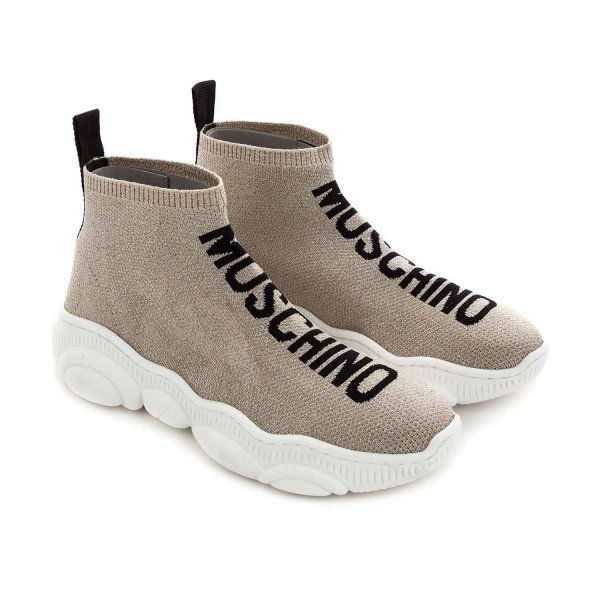 Moschino - GIRL AND TEEN SLIP ON SNEAKERS