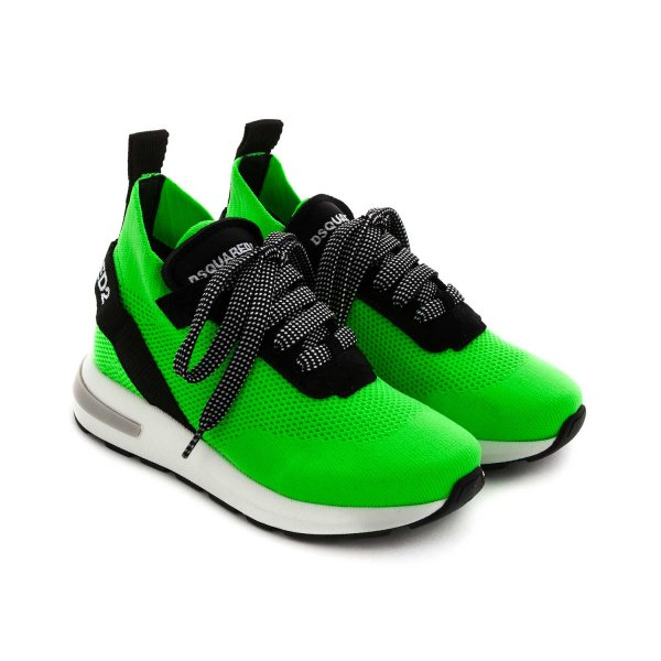 Dsquared2 - FLUO SNEAKERS FOR GIRLS