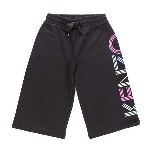Kenzo - BLACK LONG SHORTS FOR GIRL