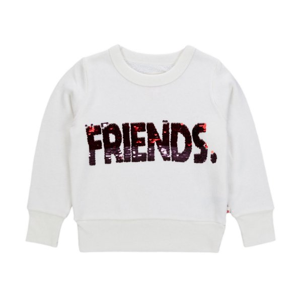 American Outfitters - WHITE SWEATSHIRT FOR GIRL