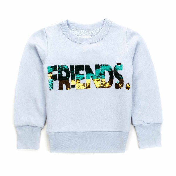 American Outfitters - GIRL PURE COTTON SWEATSHIRT