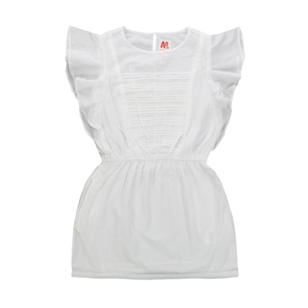 American Outfitters - GIRL WHITE COTTON DRESS