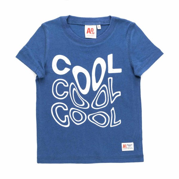 American Outfitters - GIRL BLUE COTTON T-SHIRT