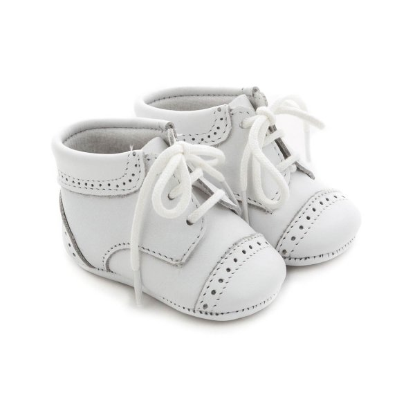 Tartine Et Chocolat - WHITE SHOES FOR BABY BOY