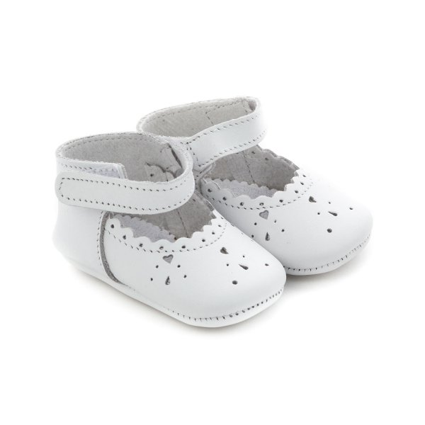 Tartine Et Chocolat - WHITE SHOES FOR BABY GIRL