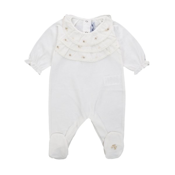 Tartine Et Chocolat - BABY GIRL RUCHE ROMPERS