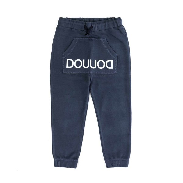 Douuod - BLUE JOGGER TROUSERS FOR BOY