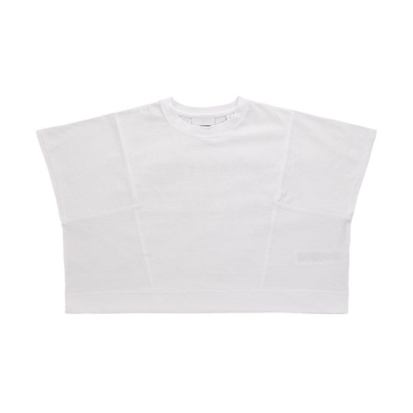 Burberry - GIRL AND TEEN CROPPED T-SHIRT