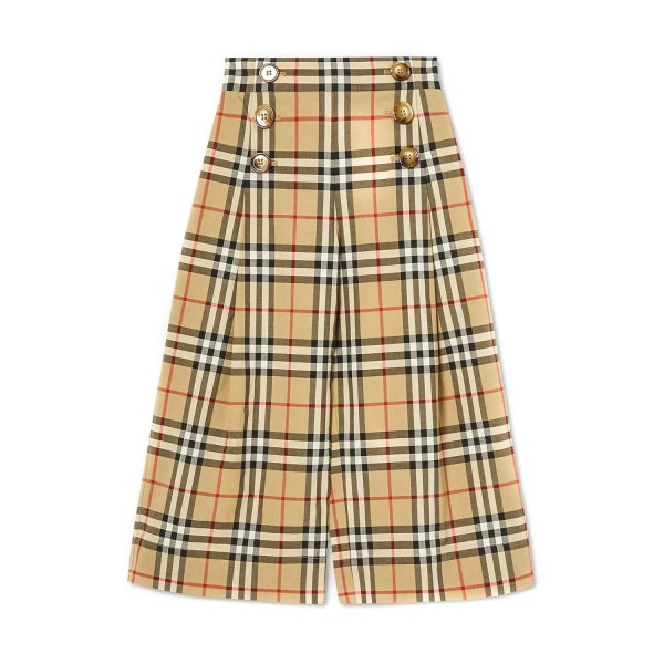 Burberry - GIRLS CHECK TROUSERS