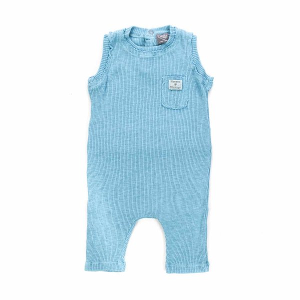 Tocotò Vintage - UNISEX LIGHT BLUE ROMPER