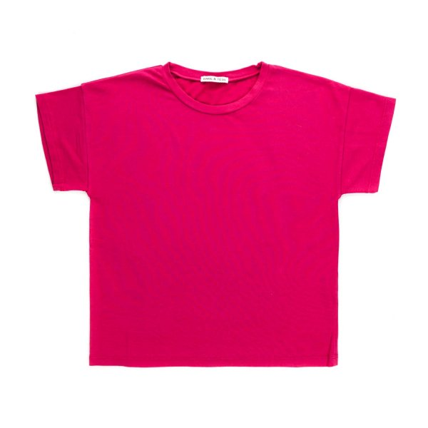 Babe & Tess - FUCHSIA T-SHIRT FOR GIRL