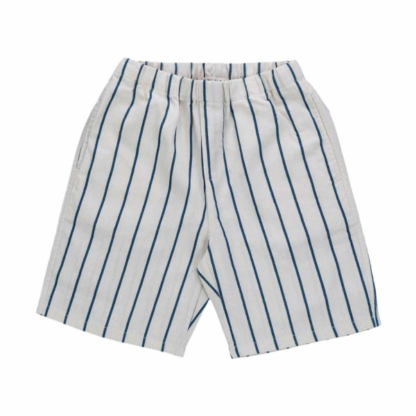 Babe & Tess - BABY STRIPED BERMUDA SHORTS