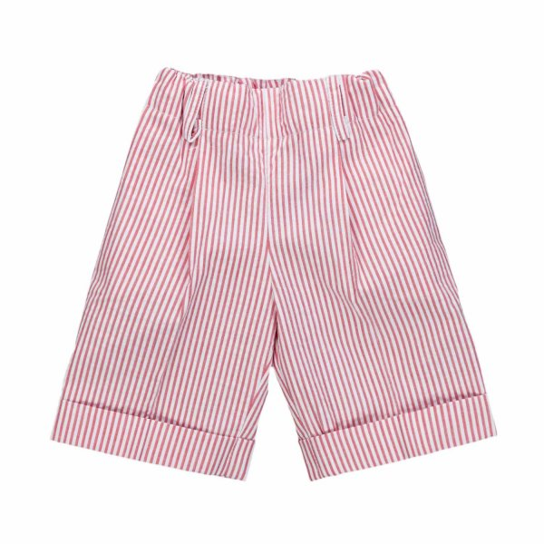 Paio Crippa - STRIPED SHORTS FOR BABY BOYS