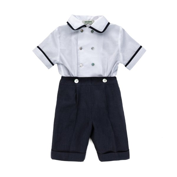 Paio Crippa - ELEGANT SUIT FOR BABY BOY