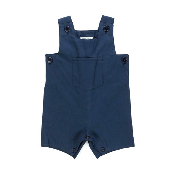 Paio Crippa - BLUE ROMPER FOR BABY BOYS