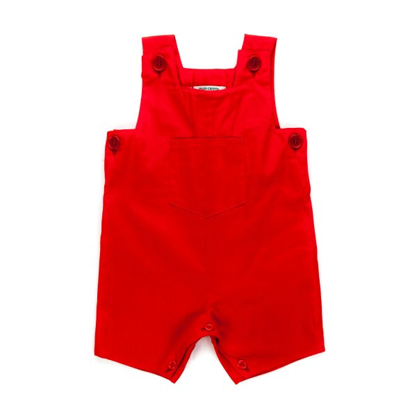 Paio Crippa - RED ROMPER FOR BABY BOY