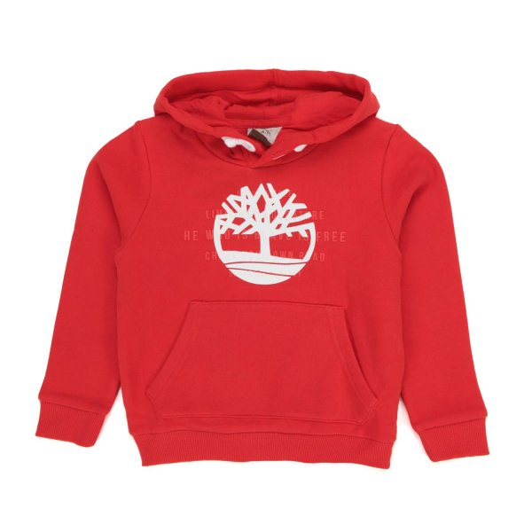 Timberland - BOY AND GIRL RED HOODIE