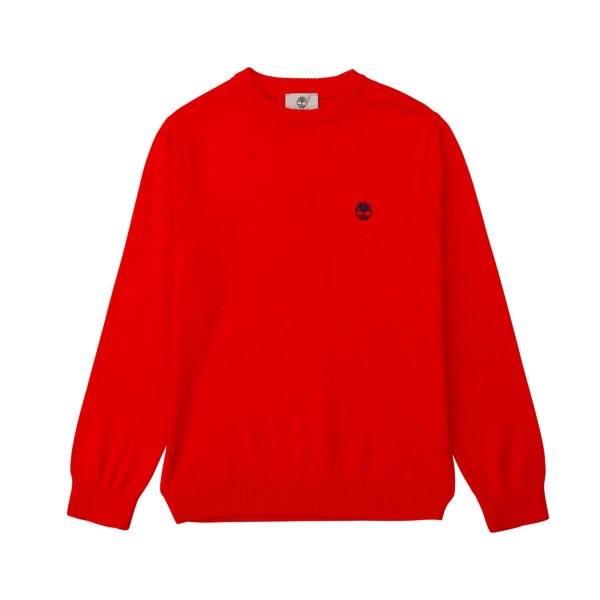 Timberland - BOY LOGO RED PULLOVER