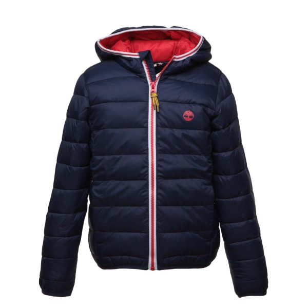 Timberland - BLU DOWN JACKET FOR BOY TEEN