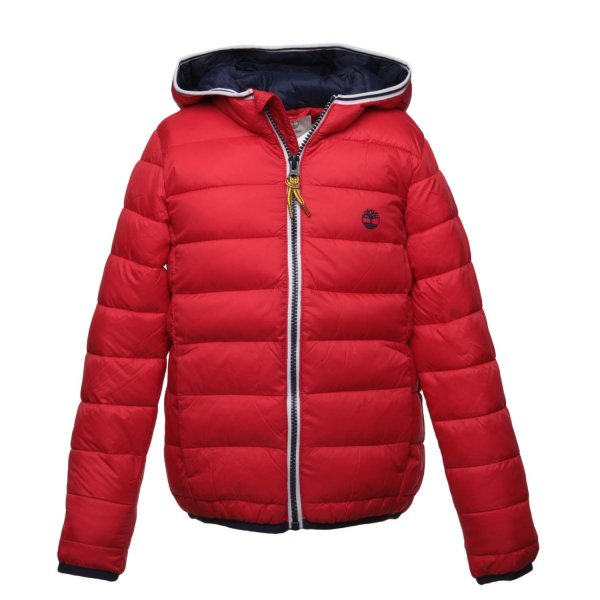 Timberland - BOY AND TEEN RED DOWN JACKET