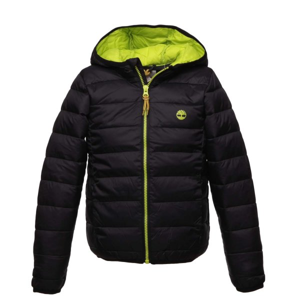 Timberland - BLACK DOWN JACKET FOR BOY TEEN