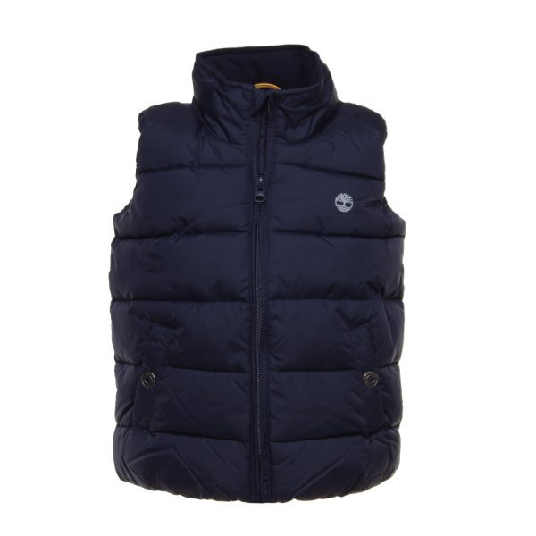 Timberland - BLUE BODY WARMER FOR BOYS