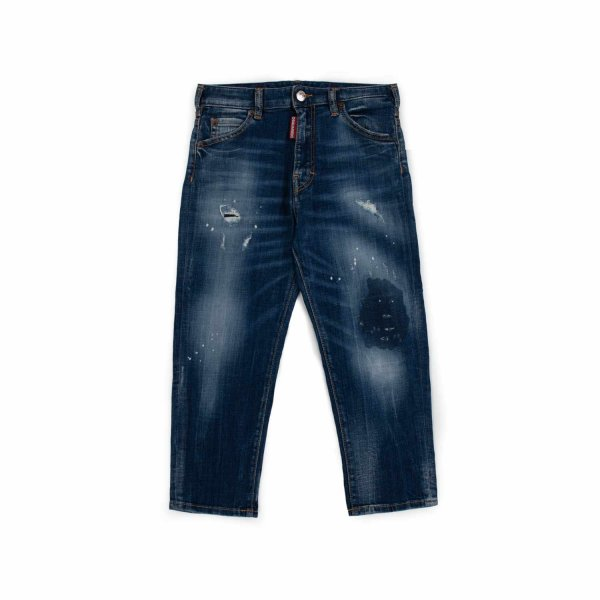 Dsquared2 - FADED JEANS FOR TEEN BOY