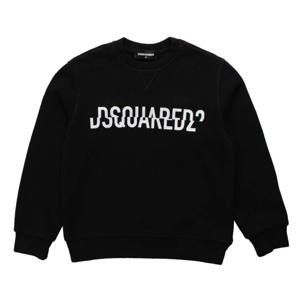 Dsquared2 - UNISEX BLACK SWEATSHIRT
