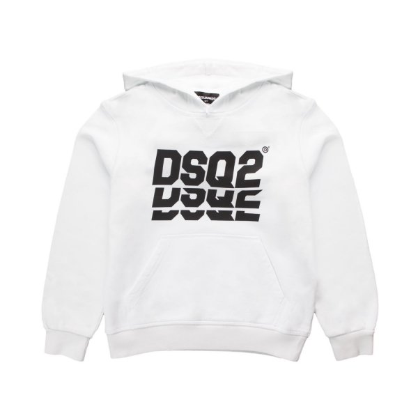 Dsquared2 - UNISEX WHITE HOODIE