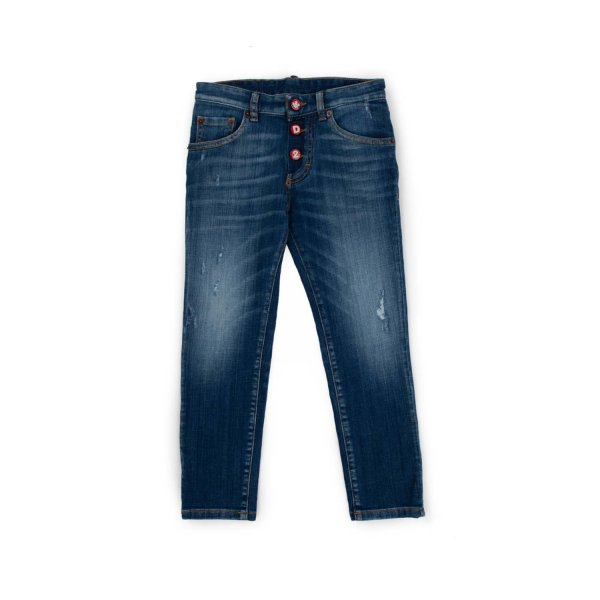 Dsquared2 - DISTRESSED JEANS FOR BOY AND TEEN