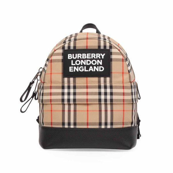 Burberry - UNISEX LOGO CHECK BACKPACK