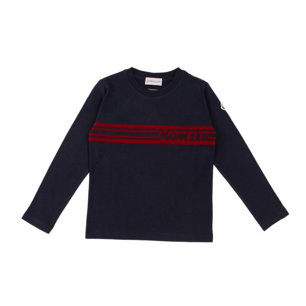 Moncler - BLUE T-SHIRT FOR TEEN AND BOYS