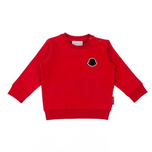 Moncler - COTTON SWEATSHIRT FOR BABY BOY