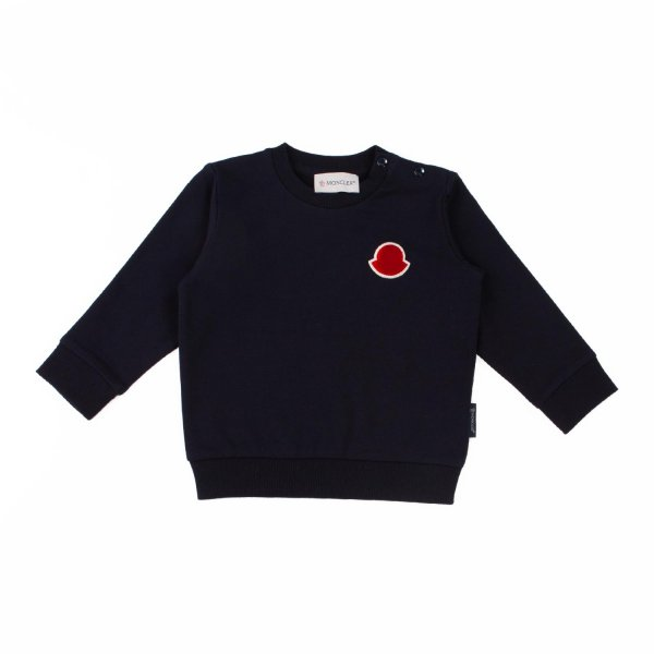 Moncler - BABY BLUE COTTON SWEATSHIRT