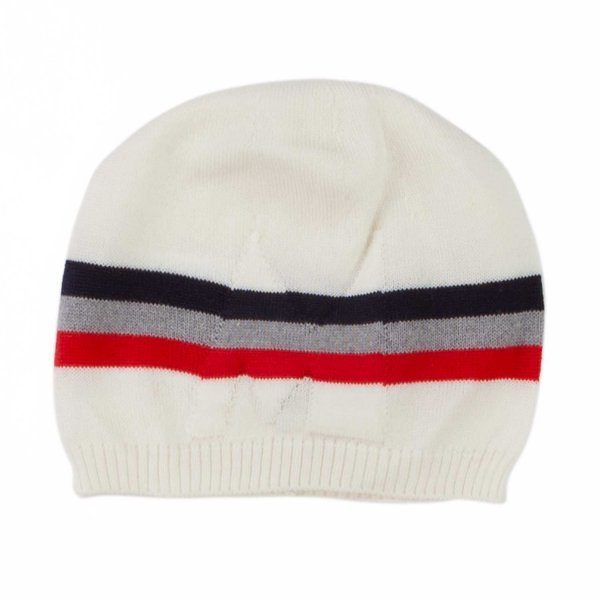 Moncler - WOOL HAT FOR BABY